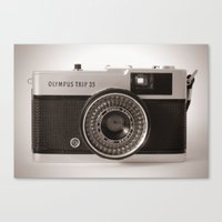 heroes of olympus Canvas Prints featuring Olympus Trip by LauraWilliams95