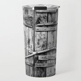 Ancient Doorway Travel Mug