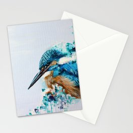 Kingfisher Bird Stationery Cards