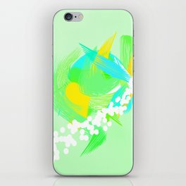 Abstract Paint iPhone Skin