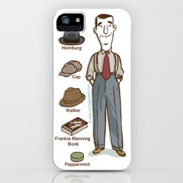 SWING SERIES: LINDY HOPPER (male) iPhone Case