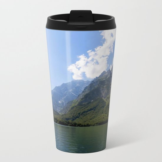 Bavaria - Alpes- Mountains Koenigssee Lake Metal Travel Mug