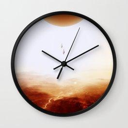 Mars Diving Wall Clock