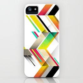 Retro Geo iPhone Case