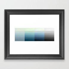 Fading Memory Framed Art Print