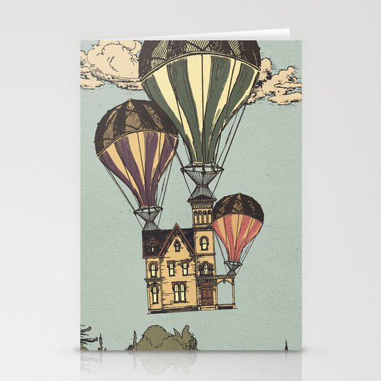 Steam UP Stationery Cards