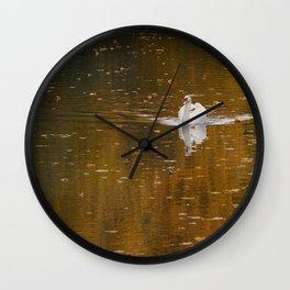 Strolling Wall Clock