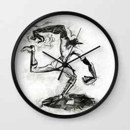 Wound-up: The Pitcher Wall Clock
