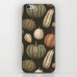 Pumpkins and Gourds iPhone Skin