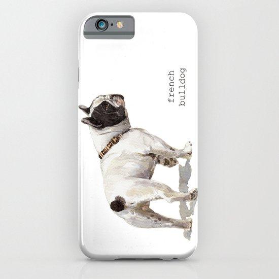 French Bulldog A050 iPhone & iPod Case