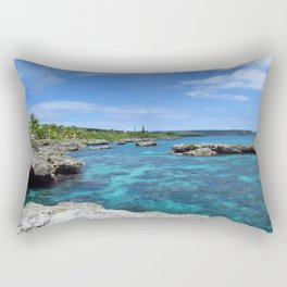 Island Paradise Rectangular Pillow