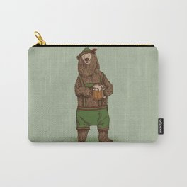 Traditional German Bear Carry-All Pouch