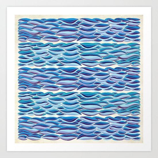 The High Sea Art Print