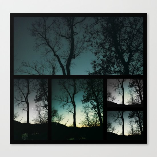 Farewell to Twilight Canvas Print