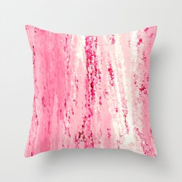 Strawberry Crush Throw Pillow