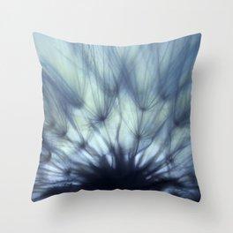 A Dandelion Fan Throw Pillow