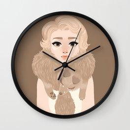 Primadonna redux Wall Clock
