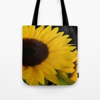 sunshine Tote Bags featuring Sunshine by Lena Photo Art
