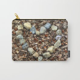 Heart of Stone - Nature-lover's Artwork Carry-All Pouch