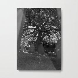 At My Grave Metal Print