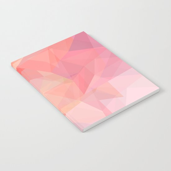autumn color polygon background Notebook