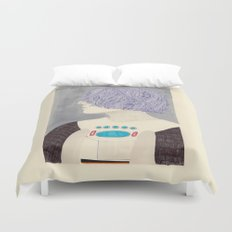 Wet Hair Duvet Cover