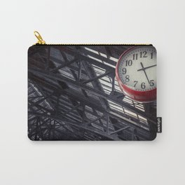 Red clock Carry-All Pouch