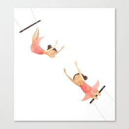 A Swing Act Canvas Print
