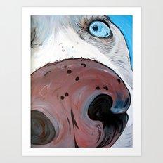 Siberian Husky Art Print