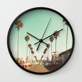 Ocean Beach Blvd San Diego Wall Clock
