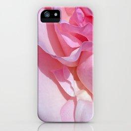 pink rose 4 iPhone Case
