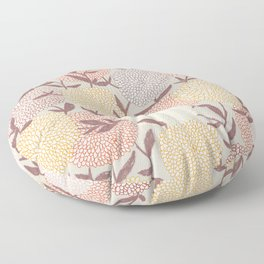 Pastel flowers Floor Pillow