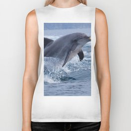 Bottenose dolphin Biker Tank