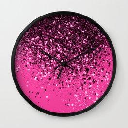 Cali Summer Vibes Lady Glitter #7 #shiny #decor #art #society6 Wall Clock