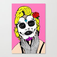 Dia De Los Marilyn En COLOR! Canvas Print
