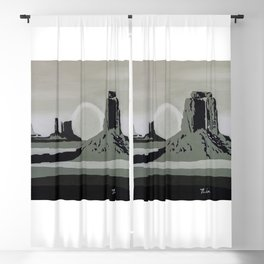 Monument Valley #1 Blackout Curtain