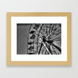 Ferris Black & White Framed Art Print