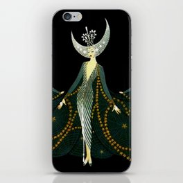 "Art Deco Design ""Queen of the Night"" iPhone Skin"