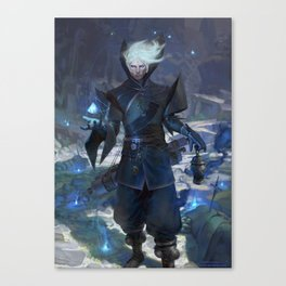 Iran The Sorcerer  Canvas Print