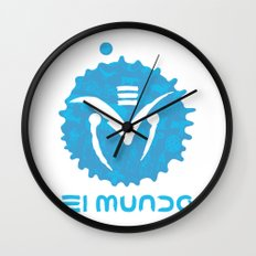 El Mundo Wall Clock