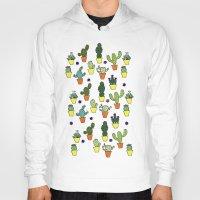 cacti Hoodies featuring Cacti by Alisse Ferrari