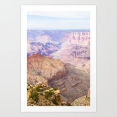 Grand Canyon Sunset View Art Print