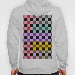 Colorful Checker 03 Hoody