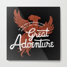 Great Adventure Metal Print