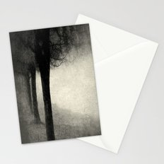 Twins in the Forest Stationery Cards