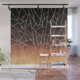 Shattered Ombre Wall Mural