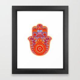Hamsa Hand Framed Art Print