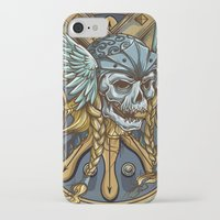 viking iPhone & iPod Cases featuring Viking by Spooky Dooky