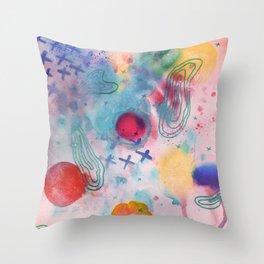 Cosmic Fantastic Throw Pillow