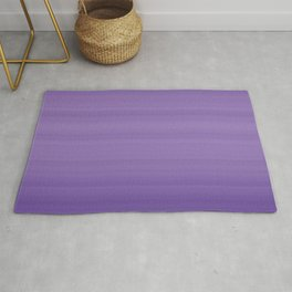 Ultra Violet Gradient Stripes Trendy Color of the year 2018 Rug